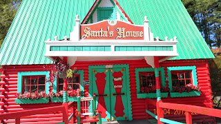 Visit Santa Clause at Santa's Land in Cherokee, NC