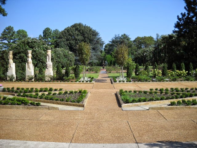 The Sculpture Garden At The Memphis Botanic Garden