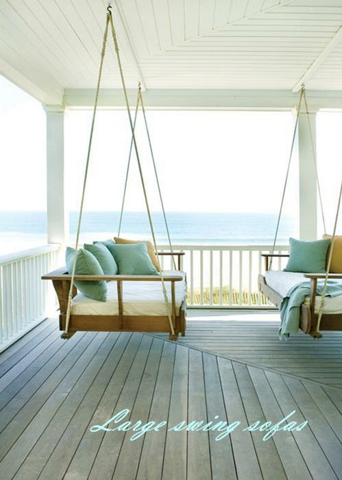 beachy decor and a happy weekend - Beachy Decor