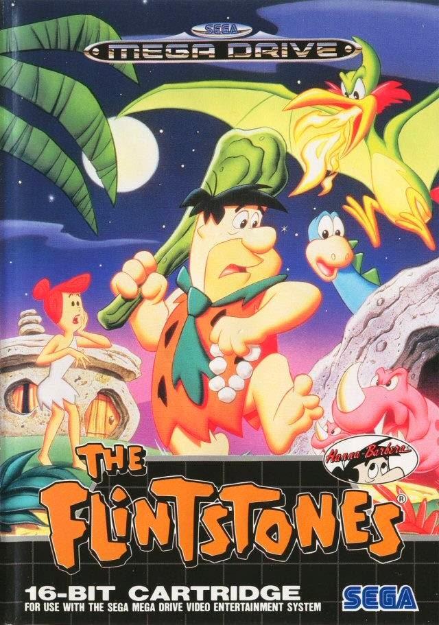 Sega's The Flintstones Cover Created by Greg Martin