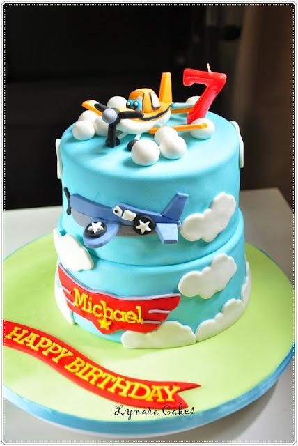 Disney Plane Cake Images : Lynara Cakes: Disney Planes : Dusty n Skipper