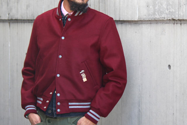 "The Brooklyn Circus ""BKc F.A.P.Varsity Jacket""size M 56,160yen"