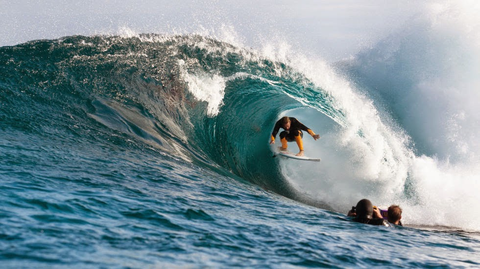 The Box Australia ASP Kelly Cestari Josh Kerr