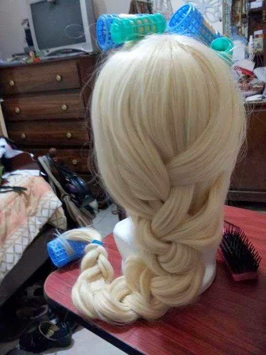 Peinado de Elsa Frozen en vídeo paso a paso ~ Belleza y
