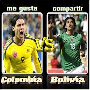 Imágen paradel encuentro entre Colombia vs Bolivia, . (colombiax)