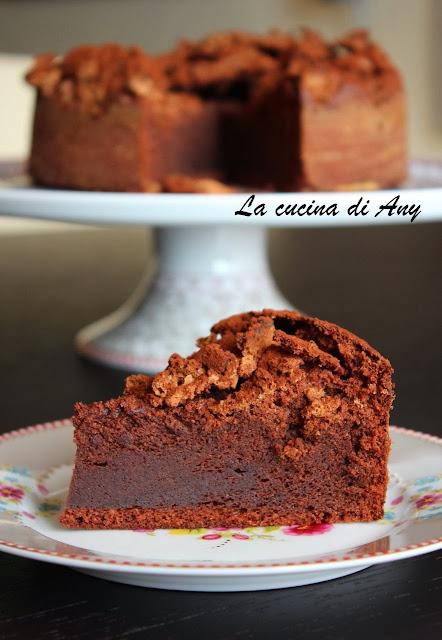 torta al cioccolato e amaretti - tort cu ciocolata si amaretti