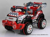 Mobil Mainan Aki Pliko PK9900N in Black