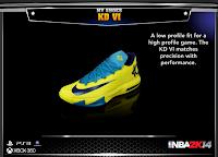 NBA 2K14 Nike KD VI Low