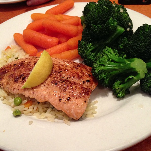 salmon - fatty fish
