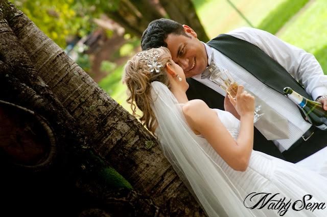 Ensaio fotográfico de casamento