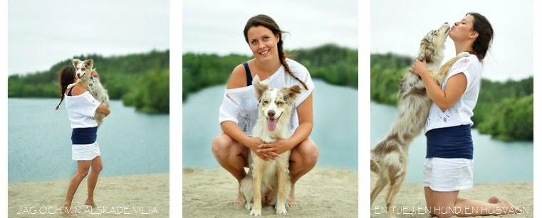 En tjej, en hund, en husvagn
