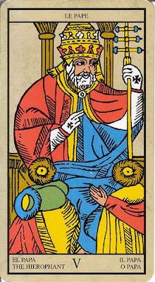 Arcanos mayores III El Papa