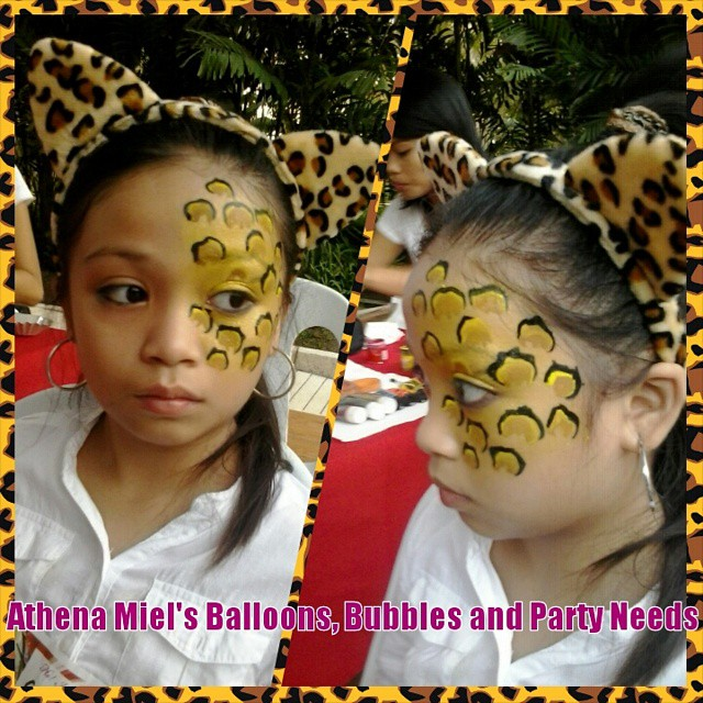 Face Painting Services in Davao City Athena Miel's Balloons ...