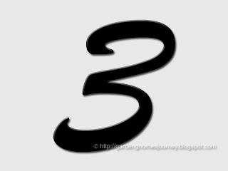the number three