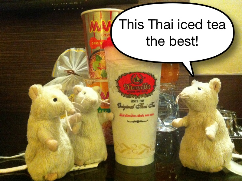 ... with Cloudywind!: Bangkok Winter still hot! - Seafood and Iced Tea