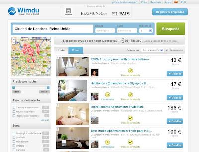 Wimdu. Alquiler de apartamentos y habitaciones