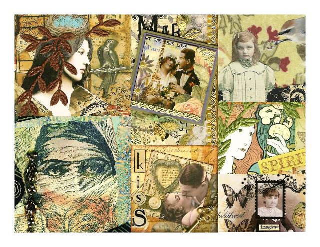 Nostalgic Collage'