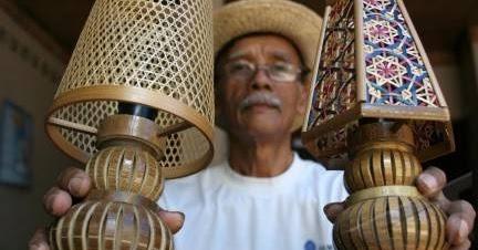 RUANG KREATIF: Kerajinan Bambu Indonesia Diminati Pasar Dunia