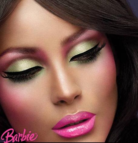 Barbie Coloring Pages Beauty And Make Up