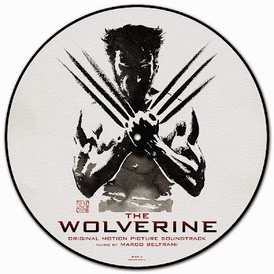 The Wolverine Original Motion Picture Soundtrack Picture Disc Vinyl Record Double LP by Spacelab9