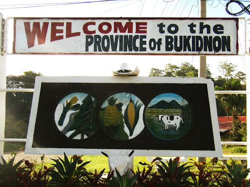 welcome sign bukidnon province