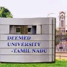 Tamilnadu Top 10 Private Deemed Universities in Engineering