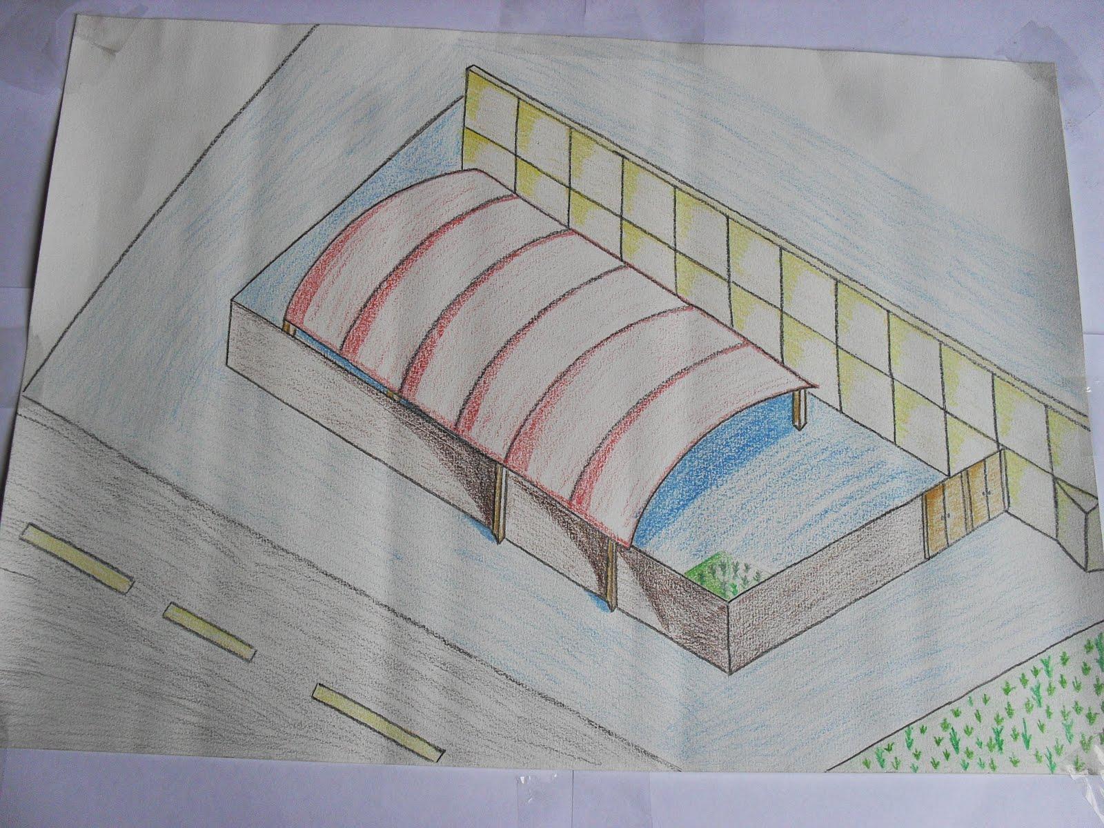 Taller del espacio universidad privada del norte dibujo for Comedor para dibujar