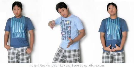 Kaos Angklung dan Lawang Sewu by Gantibaju.com