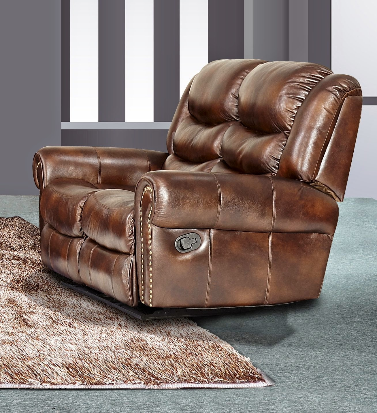Safe 60 Off Huntington 3 Pc Bonded Leather Sofa Loveseat Chair Set With 5 Recliners