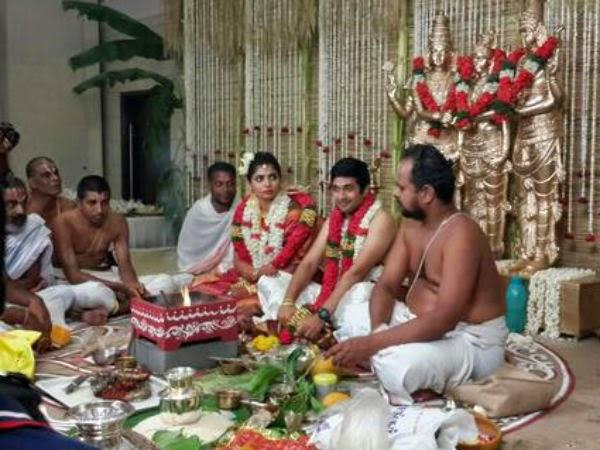 Singer Chinmayi Wedding Stills
