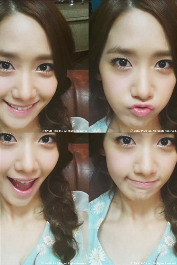 Cute Yoona SNSD Update Selca Photo