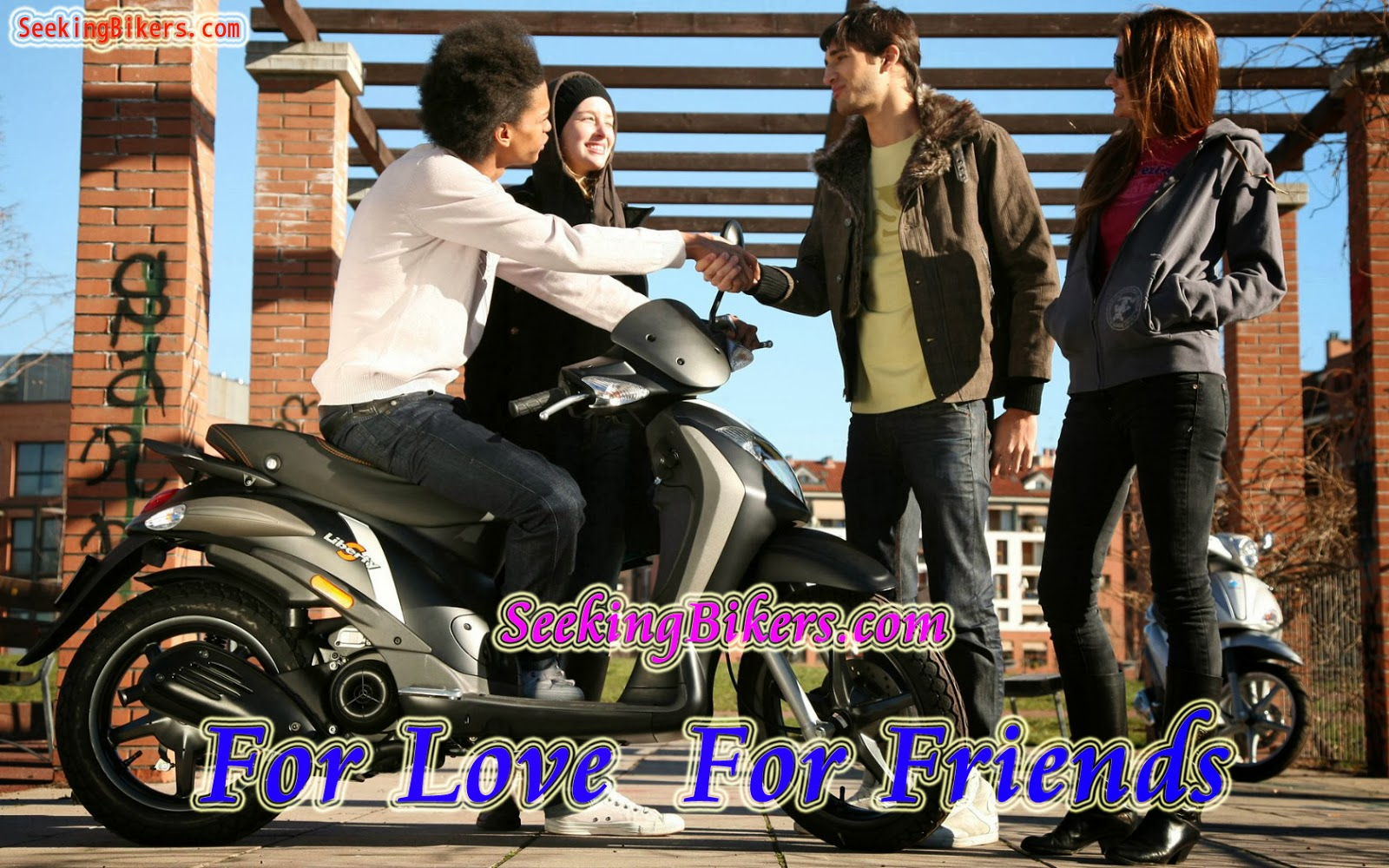 100 free biker dating sites Discover biker friends date, the completely free site for single bikers and those looking to meet local bikers never pay anything, meet bikers for dating and friendship.