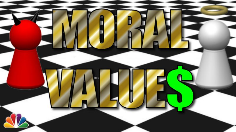 qwertyuiop moral values essay