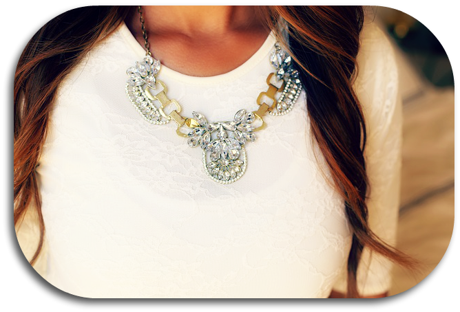 collar tipo joya