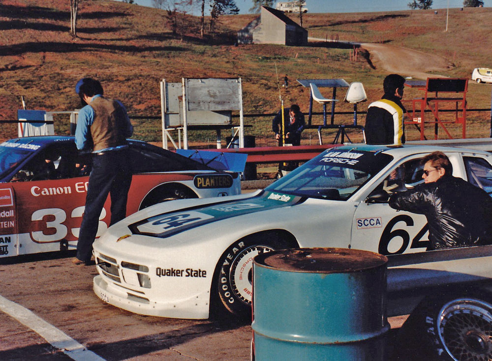 Along For The Ride  Porsche 944 GTR 003   Time with   Vic Ofner