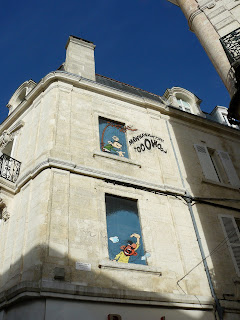 Angouleme street art comic books French Village Diaries