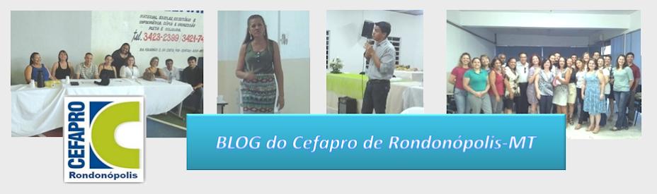 CEFAPRO de Rondonópolis-MT