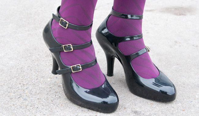 vivienne westwood, melissa shoes, jelly high heels