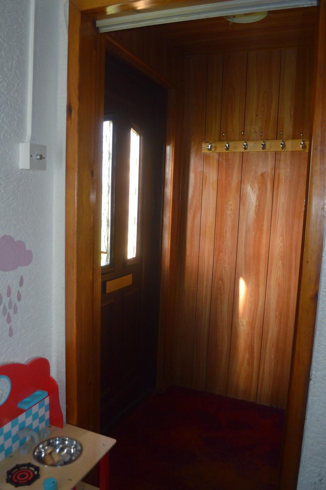 Small dark hallway
