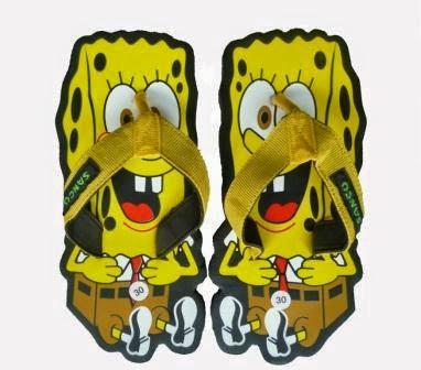 Sandal Sancu Spongebob