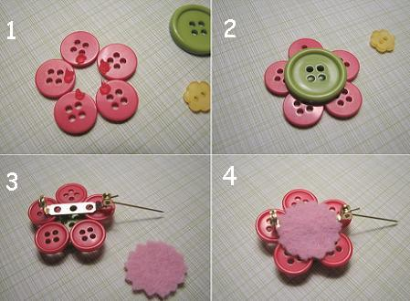 hacer broches