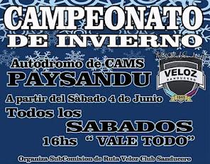 Campeonato de Invierno - Paysandu