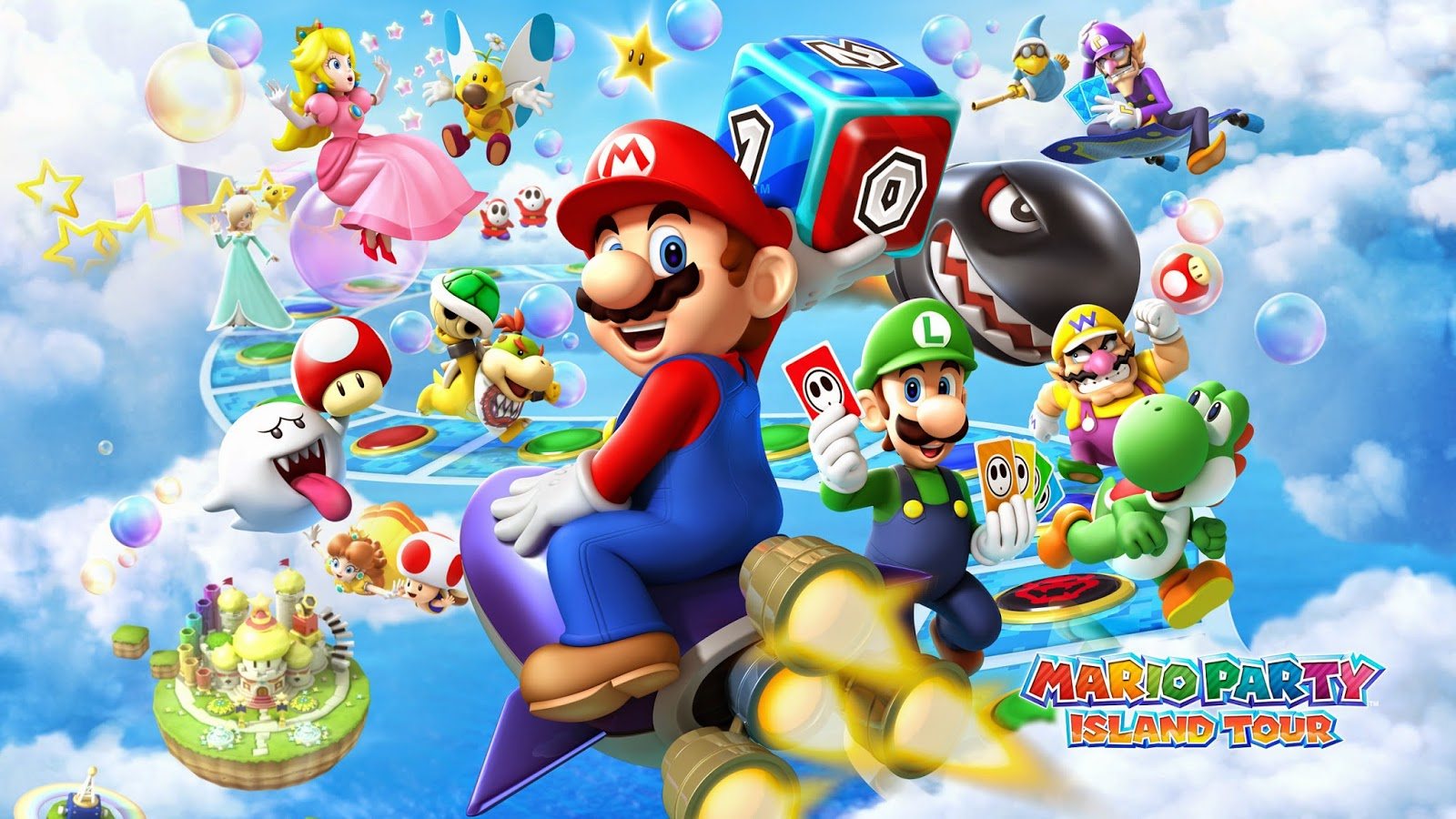 121 <b>Super Mario Bros</b>. HD <b>Wallpapers</b> | <b>Backgrounds</b> - <b>Wallpaper</b> Abyss