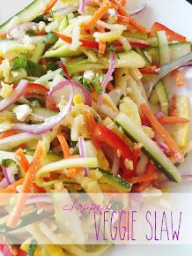Chopped Veggie Slaw