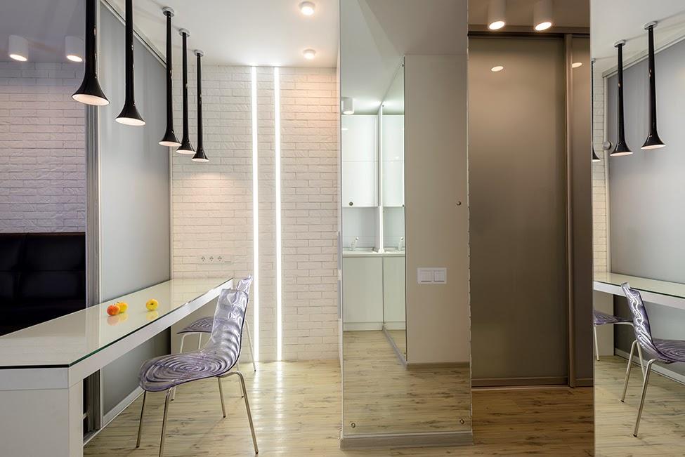 Дизайн проект однокомнатной квартиры 36 кв.м
