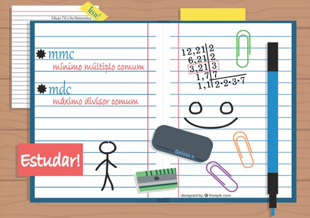 Um modo diferente de encontrar o mmc e o mdc entre dois números