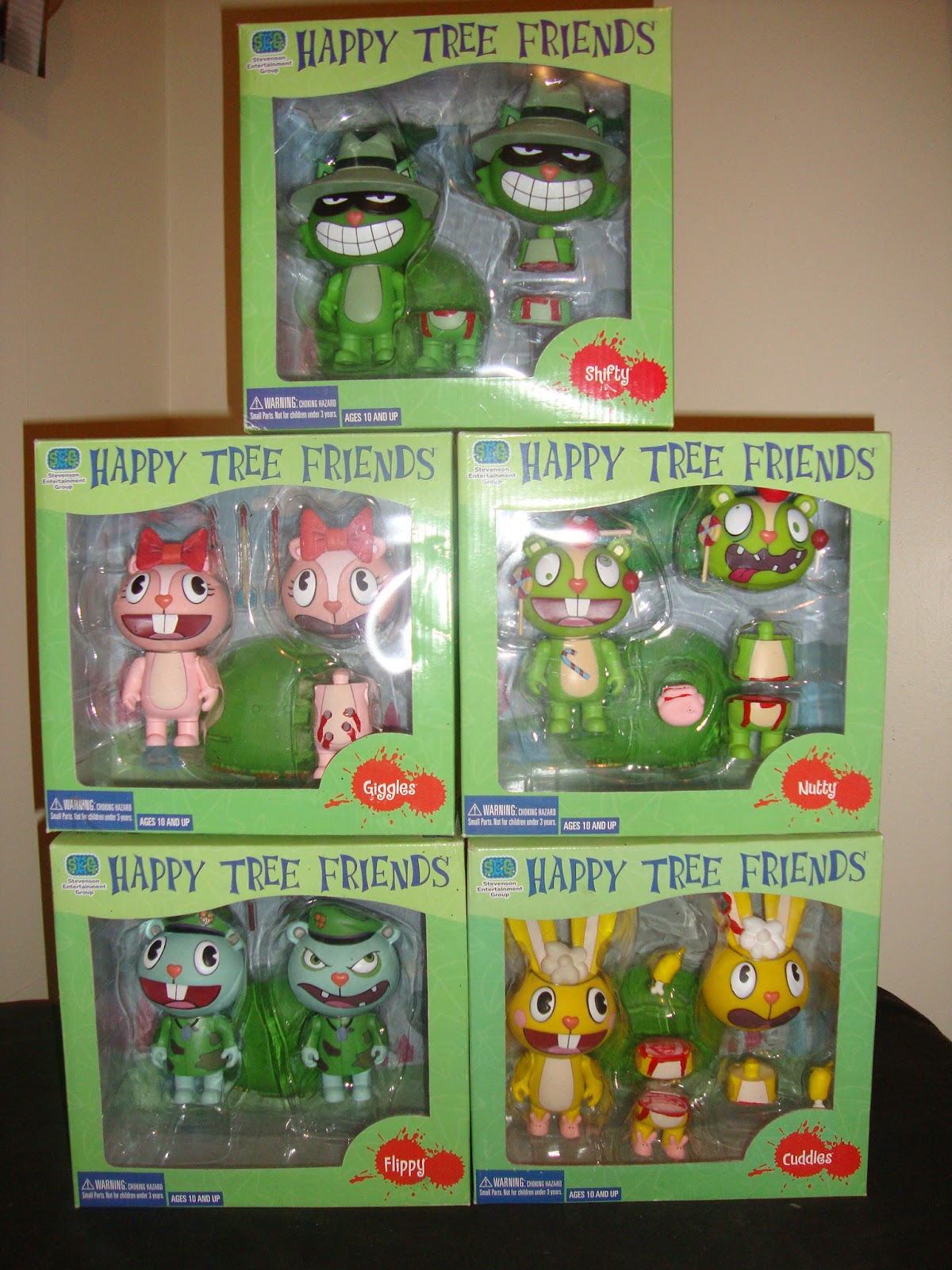 Toys happy tree friends for Happy playsets