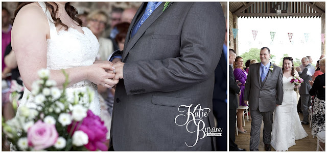 wedding ceremony, bride in window, bridal prep, vintage wedding, high house farm brewery wedding, northumberland wedding photography katie byram photography,