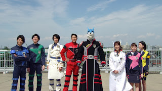 The cast of Dekaranger, 10 years on