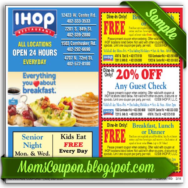 Ihop discount coupon